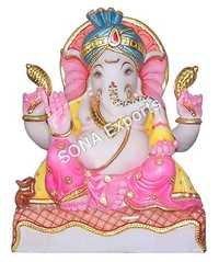 Makrana Marble Ganesh  Murti