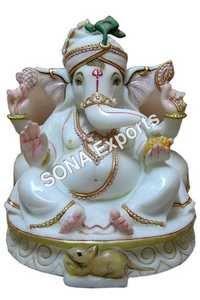 Premium Marble Ganesha idols