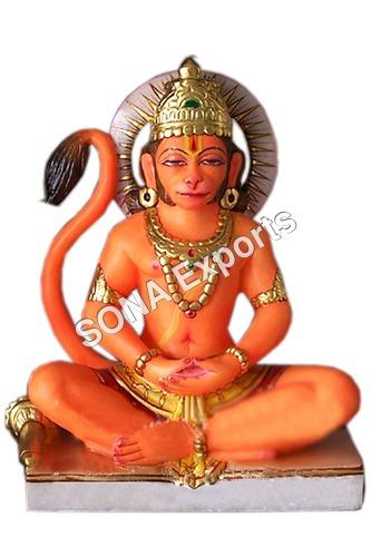 Marble Hanuman Ji Murti