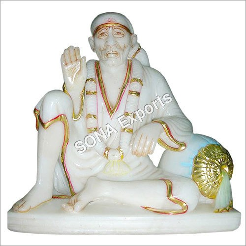 Marble Saibaba Statue