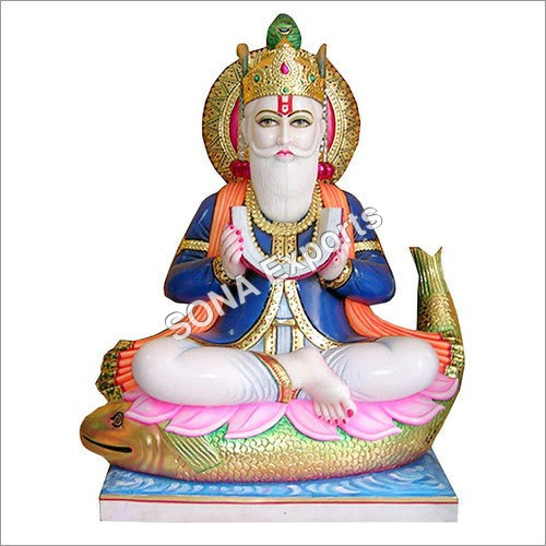Marble Jhulelal Statues