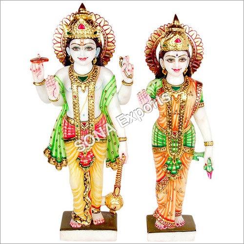 Lord Vishnu Laxmi Statues