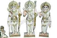 Makrana marble Ramdarbar Statue ( Ram Family)