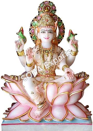Marble Goddess Laxmi Idols