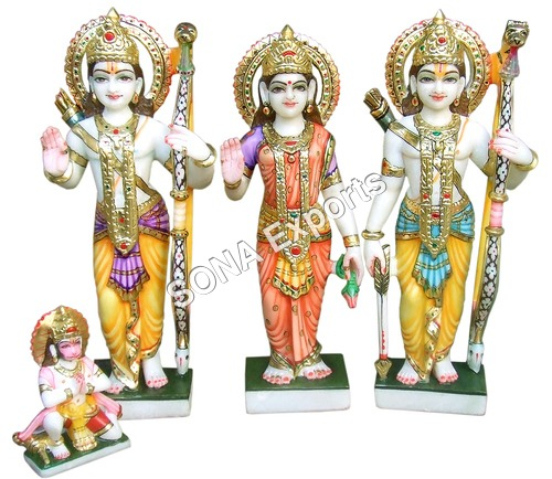 Marble Ram darbar Statue Supplier