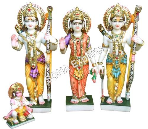 Marble Ram darbar Statue Supplier