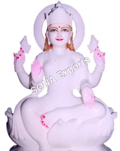 Marble Laxmi Ji Statue