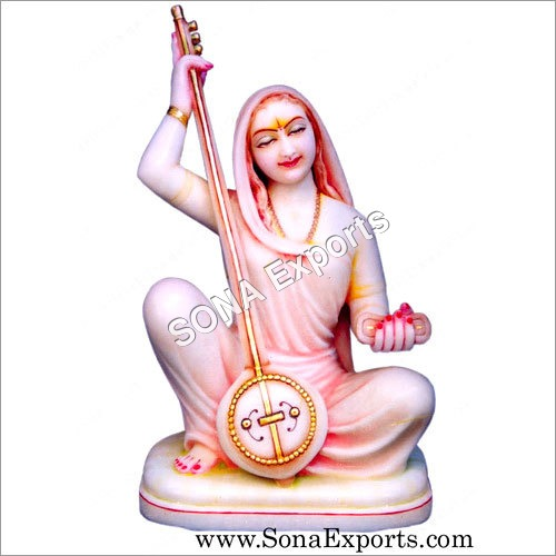 Marble Meerabai Statue