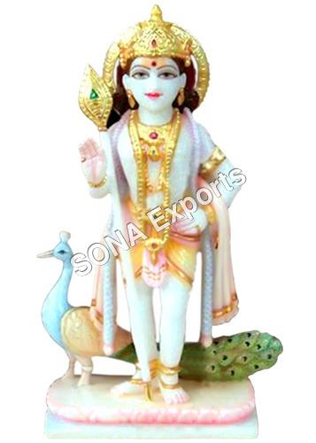 Lord Murugana Statue