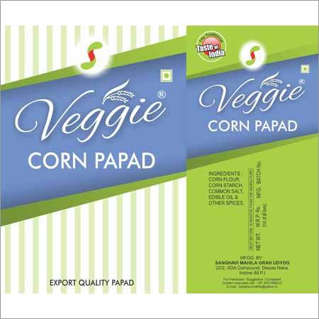 Corn Papad Triangle