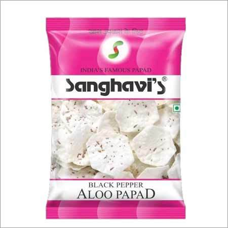 Potato Papad Black Pepper