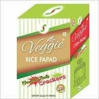 Rice Papad Red Chilli With Garlic