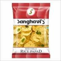 Rice Papad Red Chilli