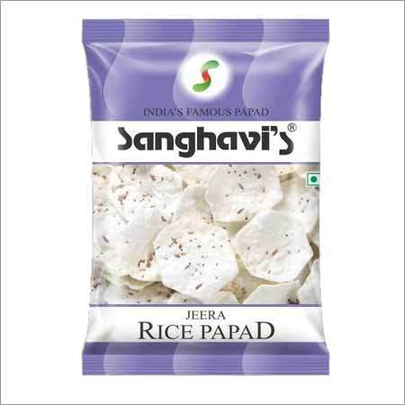 Rice Papad Jeera