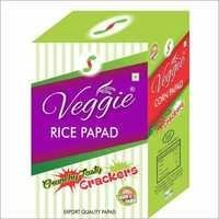 Rice Papad Jeera Coin