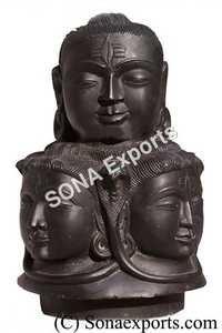 Black Marble Shivalinga