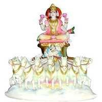 Marble Surya Statues