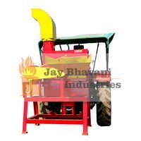 Blower type chaff cutter machine