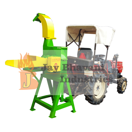 Blower type chaff cutter machine