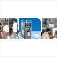 System for Automatic Milk Reception and Testing