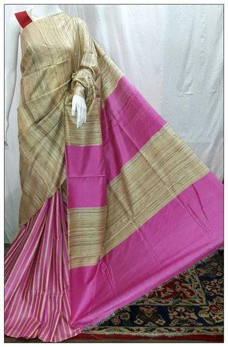 Kantha Stitch Silk & Tussar Sarees