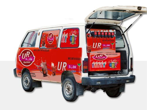 6+2 mobile van soda machine