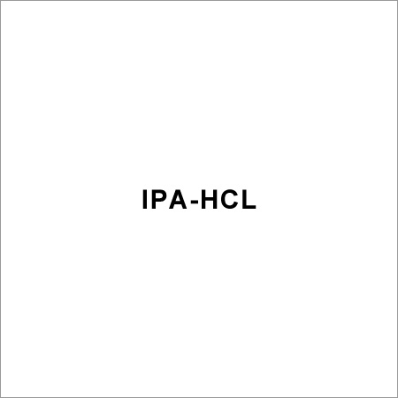 Isopropyl Alcohol HCL