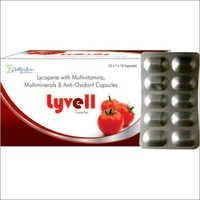 Lycopene With Multivitamins Anti Oxidant Capsules
