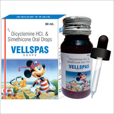 Dicyclomine HCL Simethicone Oral Drops