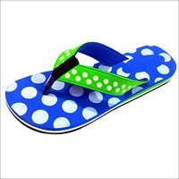 Ladies Polka Dot Slipper