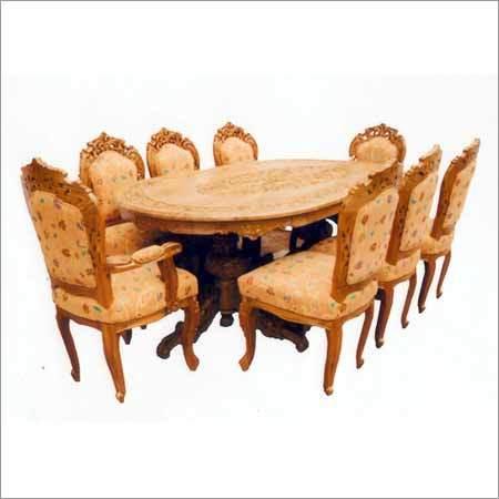 Antique Wooden Dinning Set