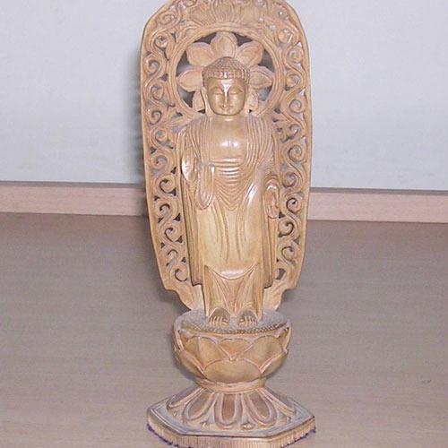 Sandalwood Figure