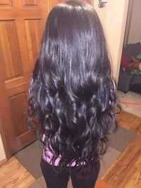 Multi Donor Wavy Hair