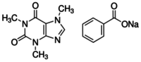 Caffeine-sodium benzoate