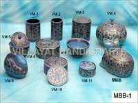 Paper Mache Jewelry Boxes