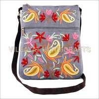 Suede Leather Sling Bag