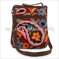 Suede Side Bag