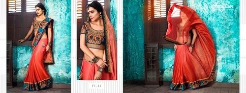 Beautiful Work Saree
