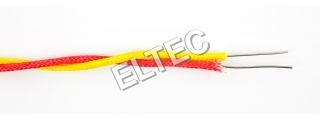 Fiber Glass Insulated Twisted Wire - 500 C