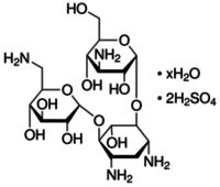 Canamycin A disulfate salt hydrate