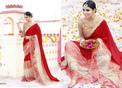 Beautiful Fancy Saree
