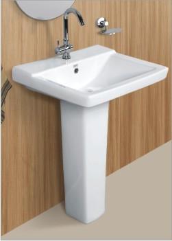 Ceramic Wash Basin and Pedestal