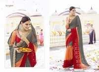 Multicolour Designer Saree