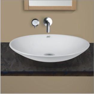 Oval hand basin