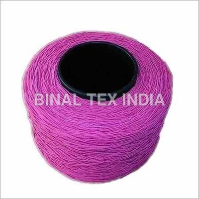Purple Elastic Yarn