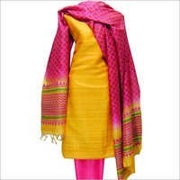Colored Unstitched Dress Material