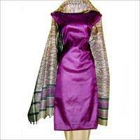 Tussar Silk Salwar Kameez Material