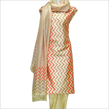 Designer Silk Dress Material