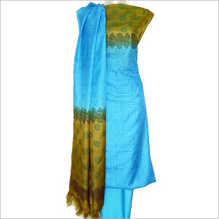 Silk Salwar Kameez Dress Material