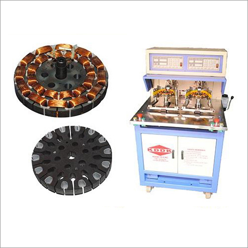 CNC Ceiling Fan Motor Winding Machine (Dual Drive)